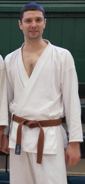 Ryan, just before grading to Shodan